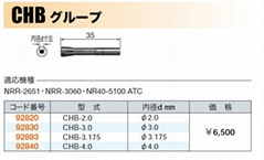CHB-3.175 夾頭 CHB-3.175 嗦咀