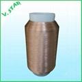 polyester metalic yarn 50D/2F