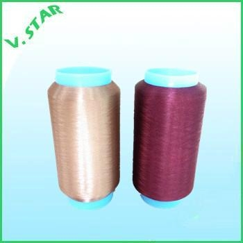 polyester color yarn