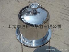 0.5~10L圆筒式不锈钢正压过滤器