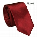 Solid Colors Neckties, Polyester Neckties,Imitation Silk Neckties