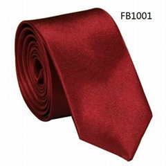 Solid Colors Neckties, Polyester Neckties,Imitation Silk Neckties