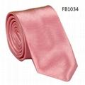 Solid Colors Neckties, Imitation Silk Neckties