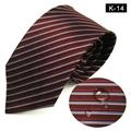 12 Patterns Nanometer Water Proof Silk Neckties In Stock