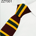 11 Patterns Knited Neckties In Stock