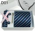 20 Patterns 1200 Needle Jacquard Polyester Neckties Sets