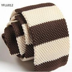 Stripe Patterns Knitted Neckties
