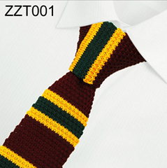 NEW Strip Patterns Knitted Neckties