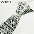 Flower Patterns Knitted Neckties