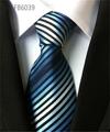 Strip Patterns Polyester Neckties