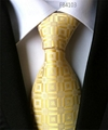 Check Patterns Neckties, Jacquard Polyester Neckties