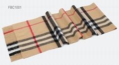 Check Patterns Imitation Cashmere Scarf