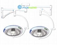 Integral reflection operation lamp