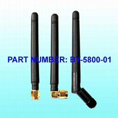 5.8GHz Rubber Antenna with SMA Connector with 3dBi