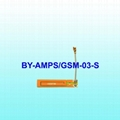 AMPS/GSM Base Rubber Embedded Antenna with Ce/Rhos/Reach Certification