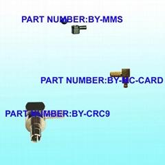 MMS / CRC9 / MC-CARD Connectors