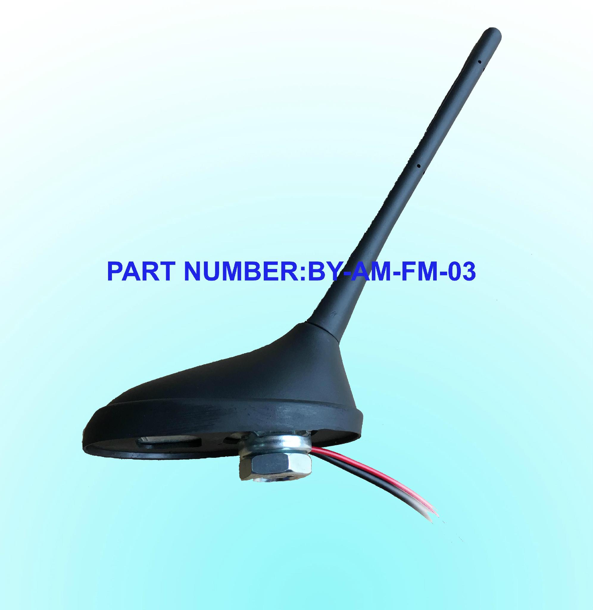 AM/FM External Active Antenna Screw Mount