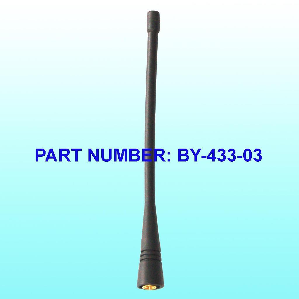 433MHz橡皮天線 1