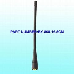 868Mhz 橡皮天线SMA内置直公