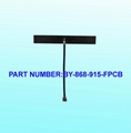 868 915Mhz Antenna FPCB Soft Antenna Cable Length 3-20cm