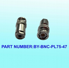 三同軸連接器