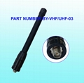 Walkie Talkie Antenna,Dual Band Flexible Whip Antenna