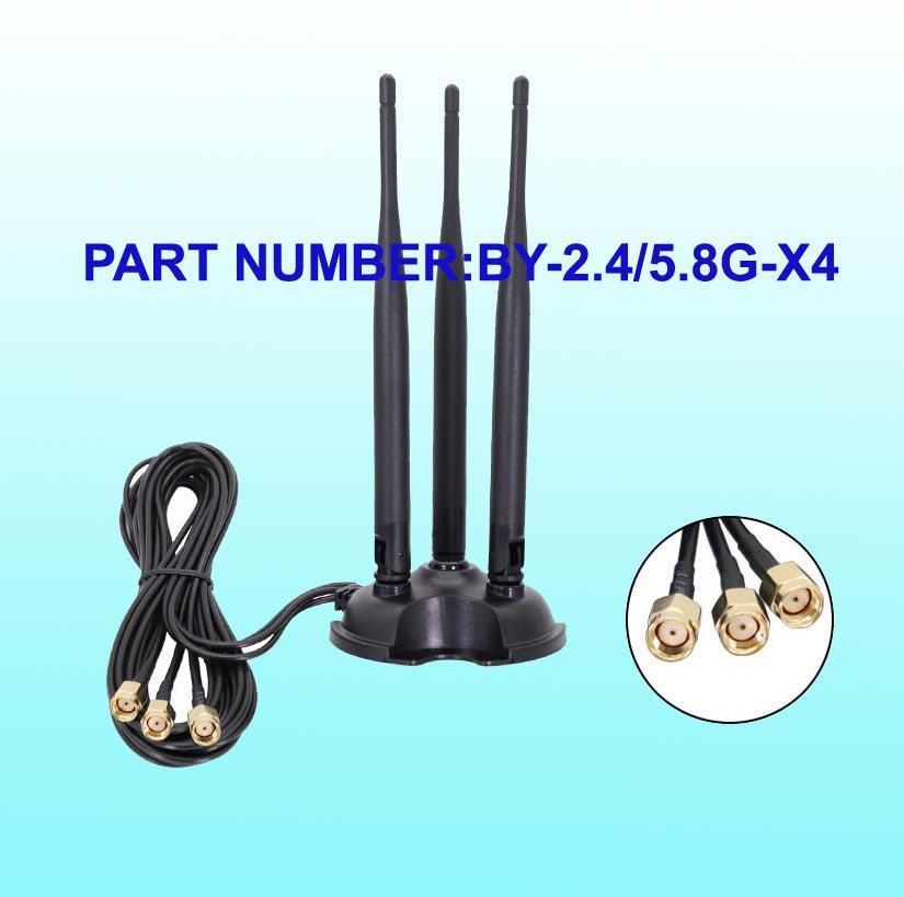2.4G~5.8G吸盤天線 1