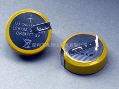 供應鋰錳扣式電池CR2477