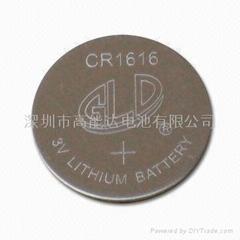 3V纽扣电池 CR1616