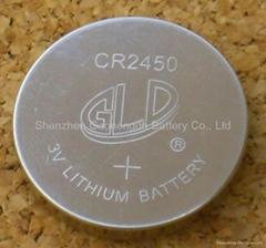 供應鋰錳扣式電池CR2450