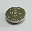 High capacity CR2032 battery