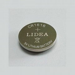 Button cell CR1616 battery