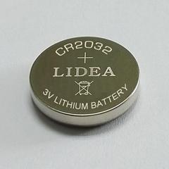 lithium button cell CR2032 battery