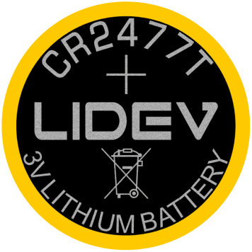 供应CR2477 NFH-LF锂锰扣式电池 3
