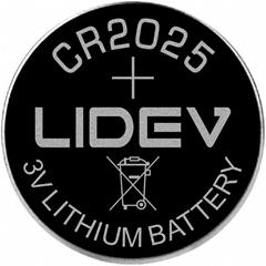 High capacity CR2025 battery