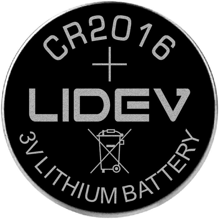 3V纽扣电池 CR2016 1
