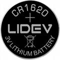 3V纽扣电池 CR1620
