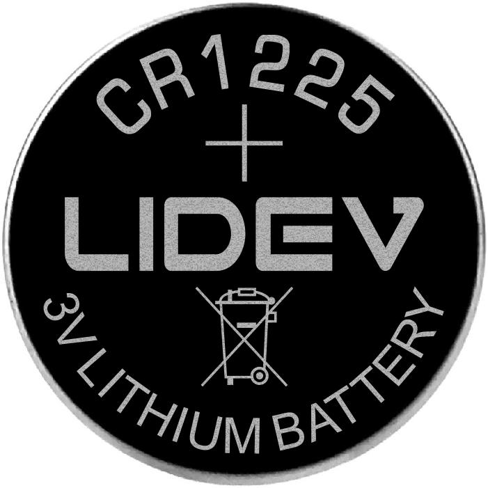 3V纽扣电池 CR1225 1