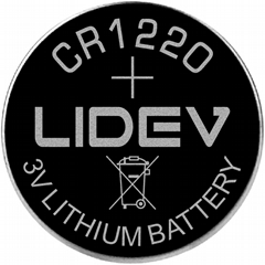 3V 紐扣電池CR1220