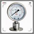 卫生型隔膜压力表系列