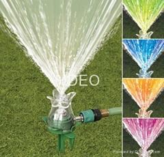 Color - changing Sprinkler