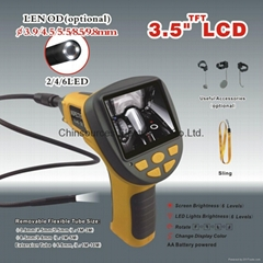 "99H--9830L1  3.5"" TF LCD monitor industrial endoscope with big screen"