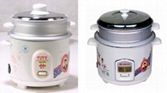 Flower Print Rice Cooker(0.6 / 1.2 / 1.5 / 1.8 / 2.2 / 2.8 /10 / 12/ 15 L)