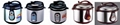 Electric Pressure Rice Cooker (4 / 5 / 6