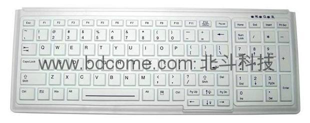 标准医疗键盘带数字小键盘KM103R 可水洗 可选背光 1