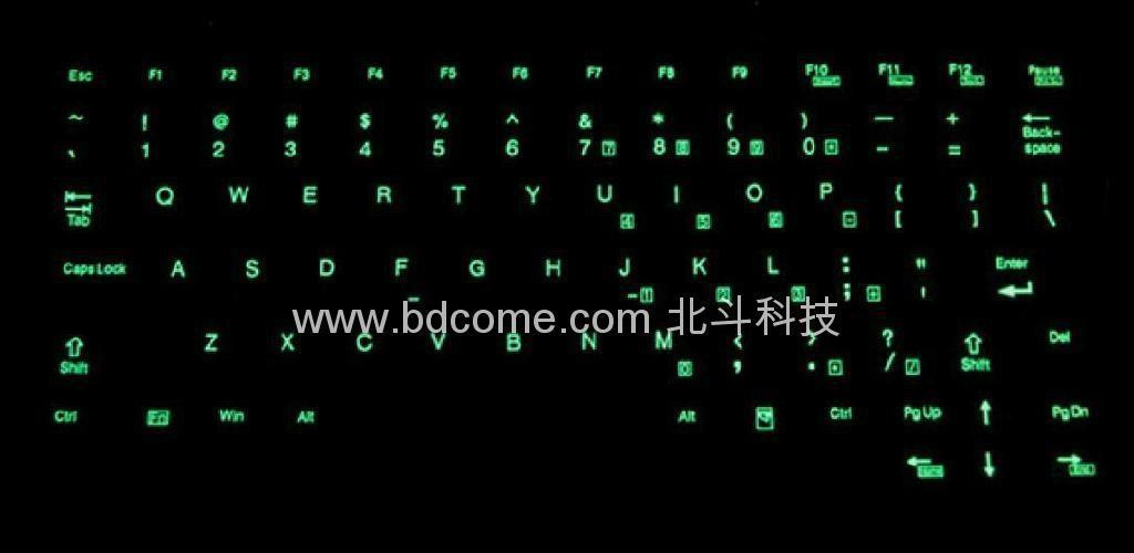 带背光医疗键盘