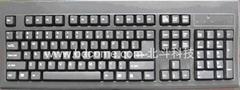 经典电容式键盘KB888全键同时按下正常工作媲美机械键盘