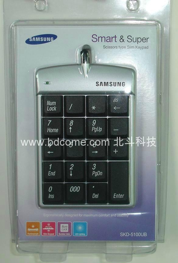 Laptop USB keypad wired & wireless series & HUB & LCD Display & Calculator 1
