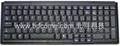 全尺寸笔记型按键标准工业键盘K