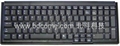 全尺寸筆記型按鍵標準工業鍵盤K